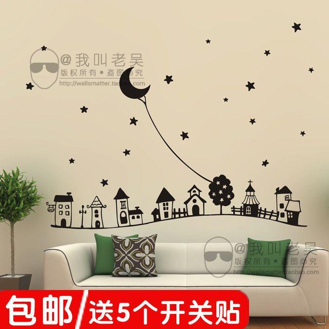 Children\'s Room Wall Decoration | Playroom | Pinterest | Wall ...