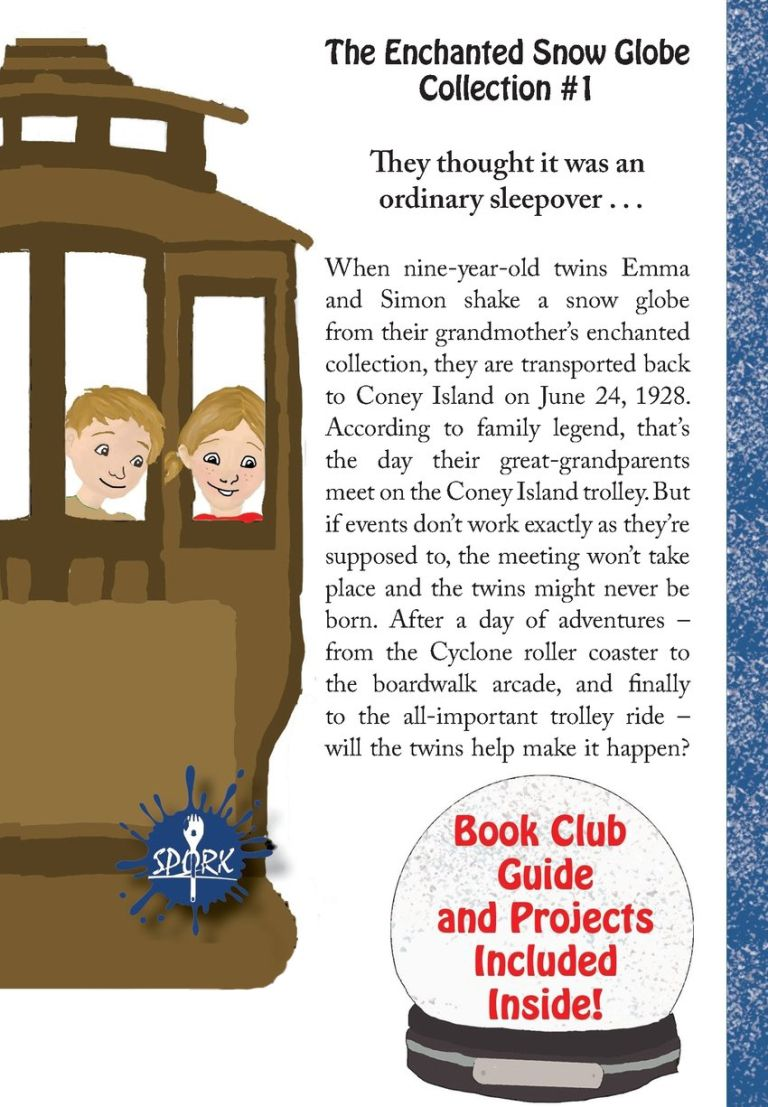Book Giveaway – The Enchanted Snow Globe: Return to Coney Island by Melissa  Stoller | Writing and Illustrating