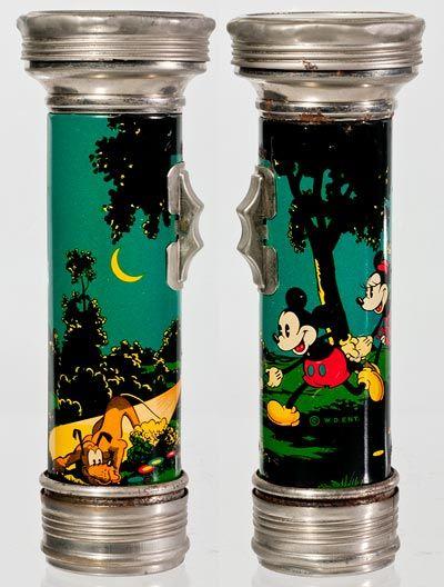 1936 disney flashlights
