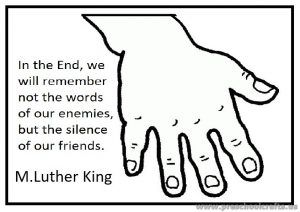Martin Luther King Day Coloring Page For Preschool And Kindergarten