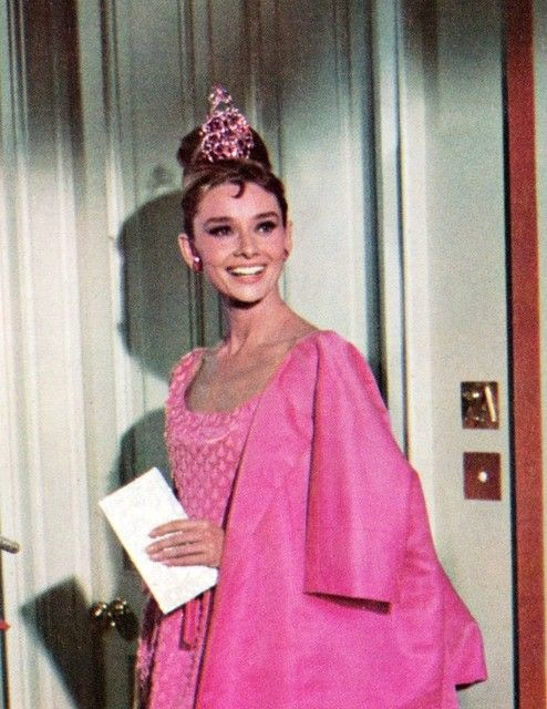 Audrey Hepburn in Breakfast at Tiffany\'s, 1961   On a \