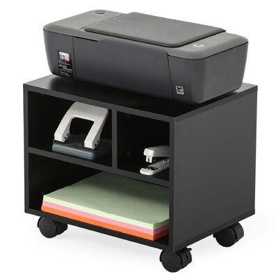 Fitueyes Under Desk Mobile Printer Stand With Wheels Mesa Impresora En 2019 Mesas