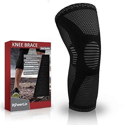 d9e109290d PowerLix Compression Knee Sleeve - Best Knee Brace for Men & Women – Knee  Suppor #PowerLix