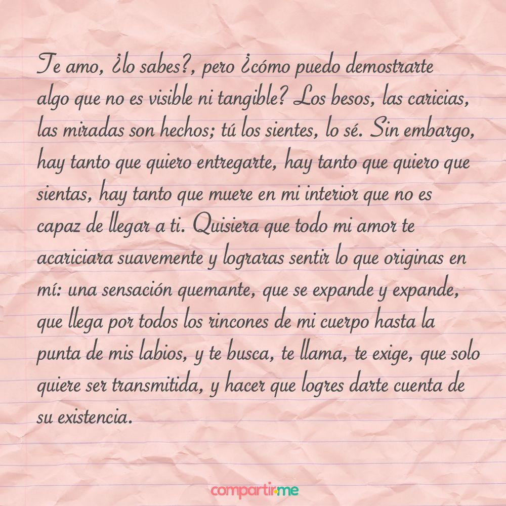 Cartas De Amor 10 Jpg 1000 1000 Fraces Y Citas Pinterest