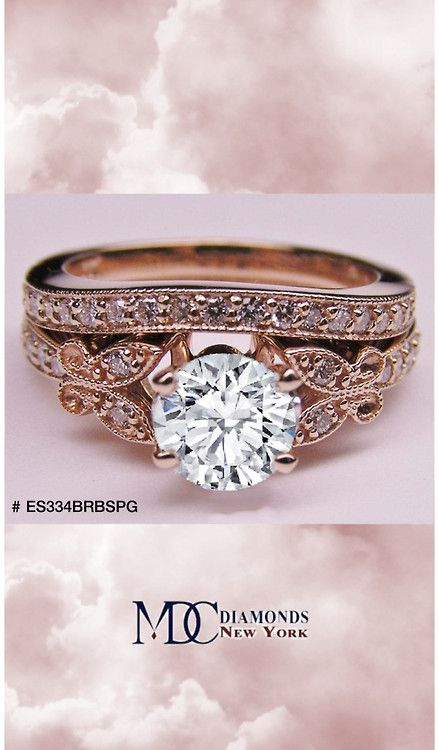 Butterfly Vintage Engagement Ring Matching Wedding Band This One Is Pe Engagement Ring Matching Wedding Band Butterfly Engagement Ring Wedding Rings Vintage