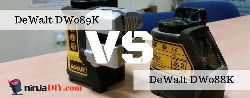Dewalt dw088k vs dewalt dw089k 2019 laser tool