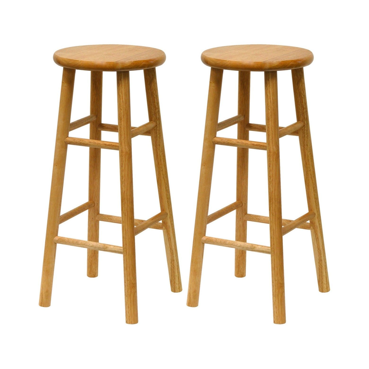 Tabby 2 Piece 30 Bar Stool Set Winsome Target Bar Stools