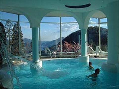 Cademario Thermal baths, Switzerland