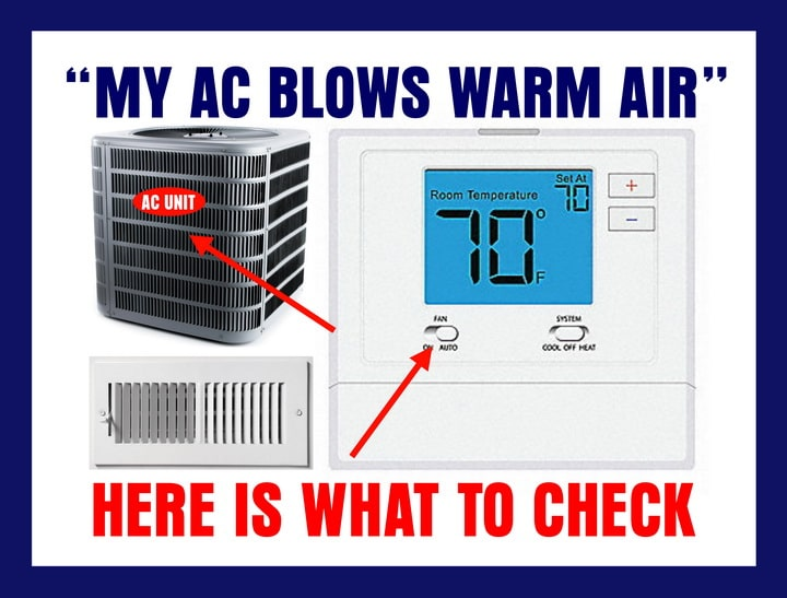 AC Not Blowing Cold Air What Can I Do? Cold air, Air