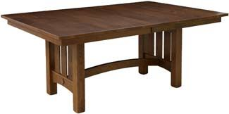 """Amish Outlet Store : 42"""" x 66"""" Sonora Table in Oak"""