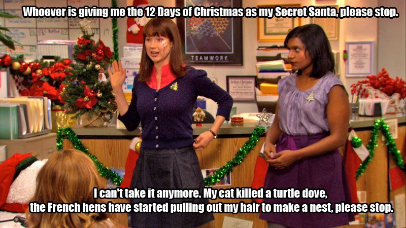 12 Days of Christmas / The Office / TheOffice The