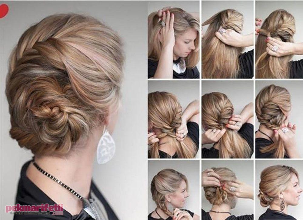 Baliksirti Orgulu Topuz Modeli Dirndl Frisuren Lange Haare