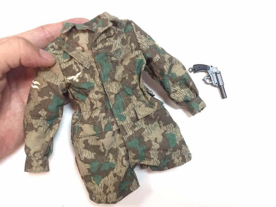 DID WWII German Jakob Blau Tunic 1//6 Toys Soldier Story Bbi Miniature Shirt 3R