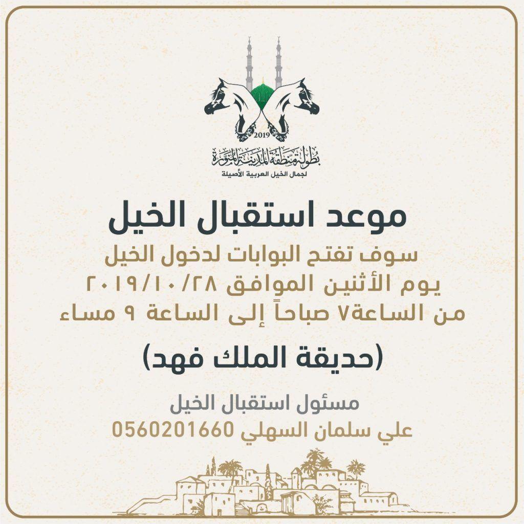 استقبال الخيول المشاركة في بطولة المدينة المنورة 2019 ابتدءا من اليوم Arabian Horse Home Decor Decals