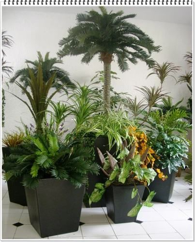 Rc arte y decoracion plantas artificiales decoraci n - Plantas artificiales para interiores ...