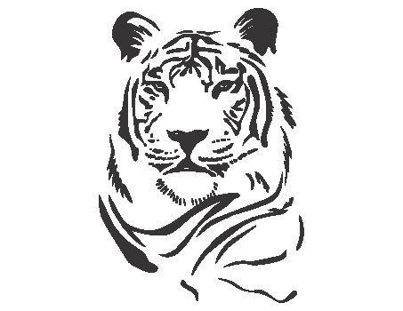 Cabeza de tigre para colorear | Acuarela | Pinterest | Tribal ...