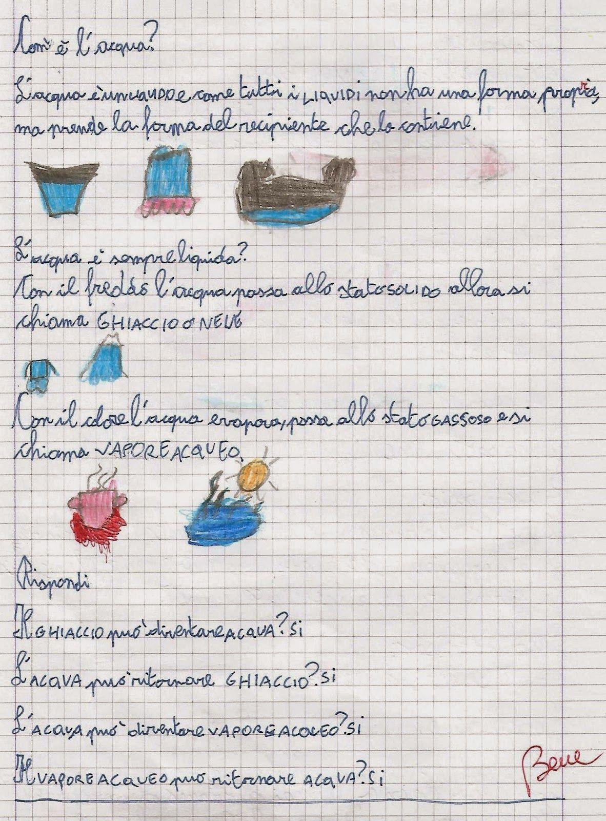 Scienze Classe Seconda Lacqua Il Ciclo Dellacqua Acqua