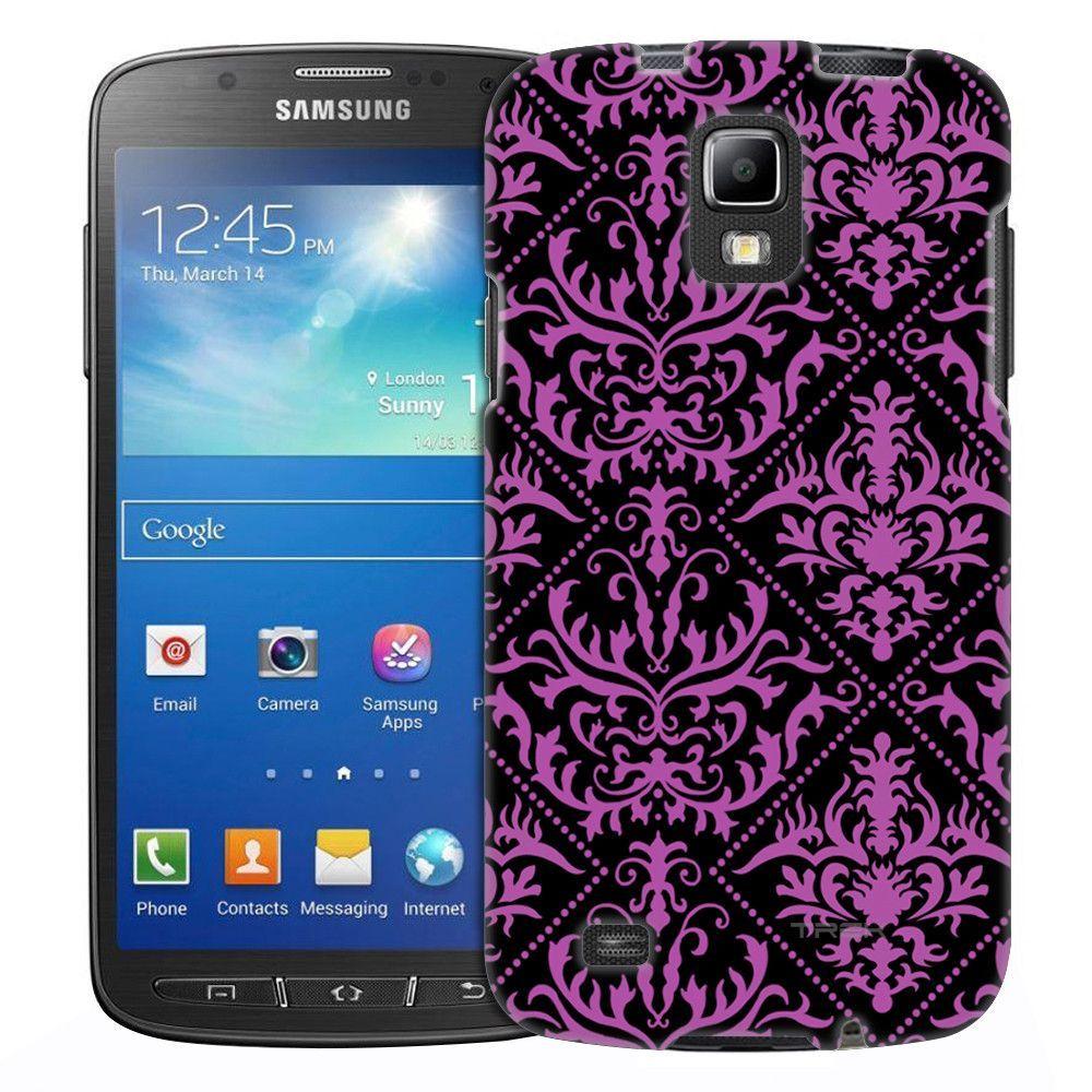 Samsung Galaxy S4 Active Damasks Stunning on Nebula Slim Case