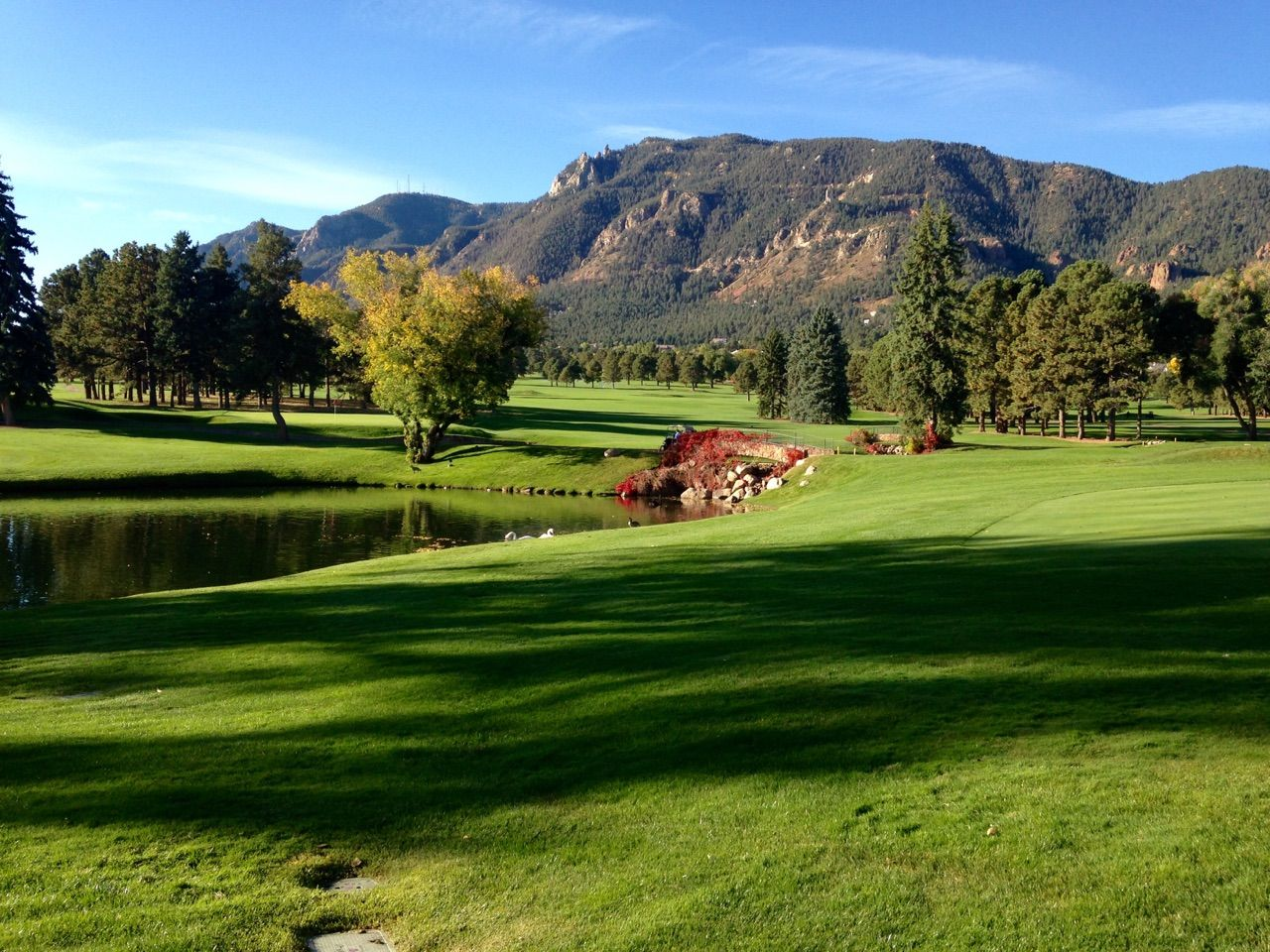 Great Photo Of The East Golf Course Taken By Clair D Morning Fall 2015 Golf Courses