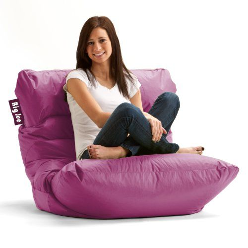 Joe Roma Bean Bag Chair Pink Passion