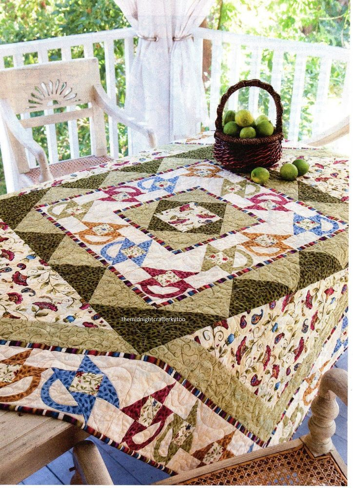 Baskets Of Cheer Quilt Pattern Pieced/Applique LB
