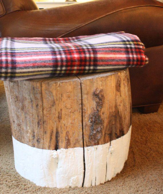 Vintage tartan plaid wool blanket by mysweetsavannah on Etsy, $38.00