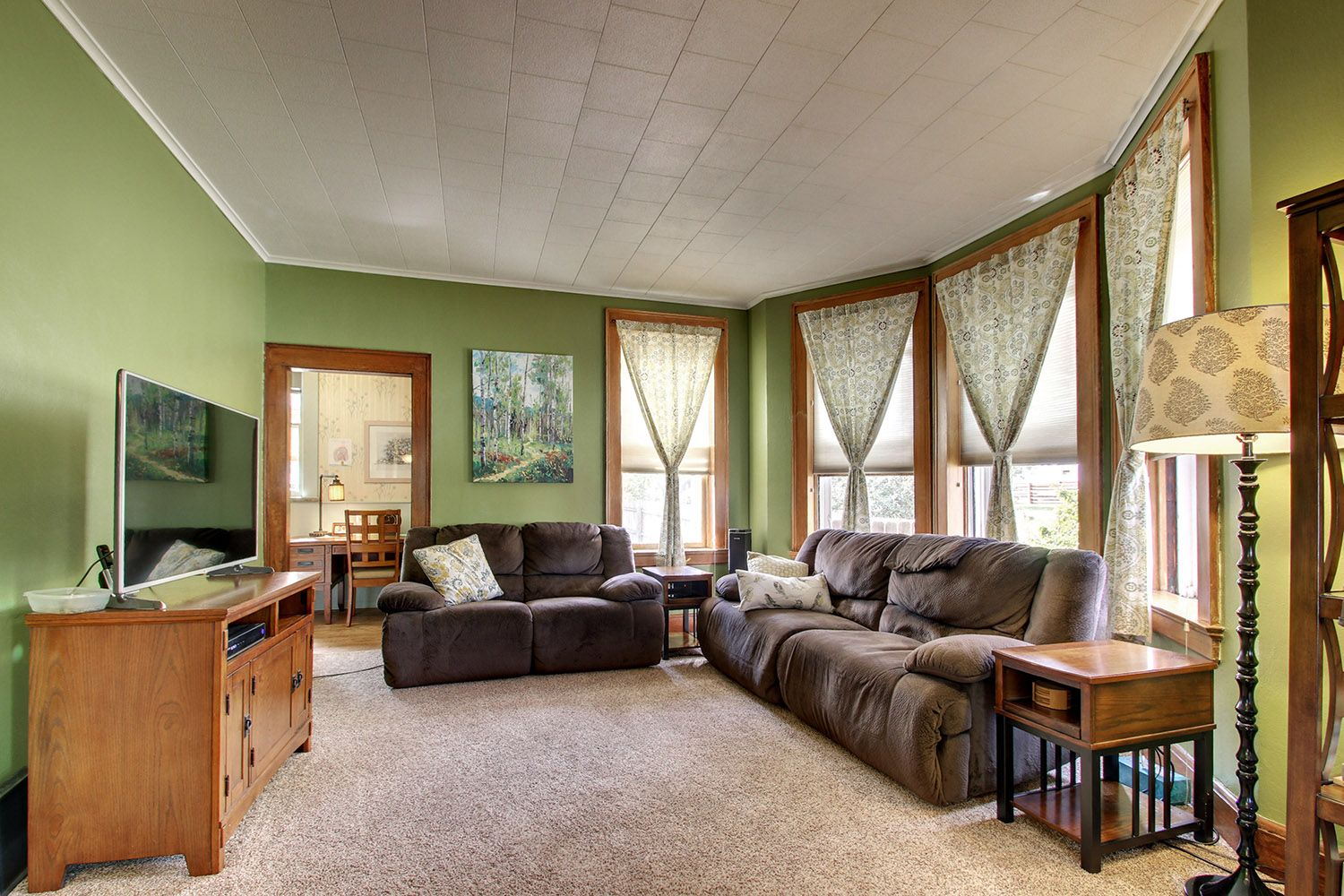 Open living room idea! Home marketed by Quincy, IL Real ...