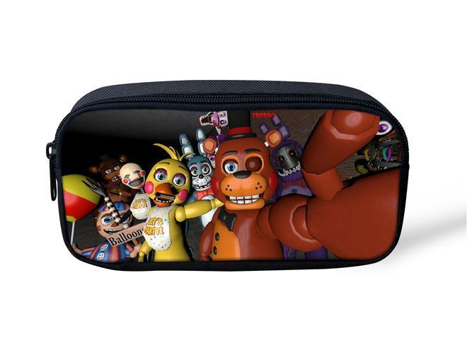 Five Nights At Freddys Boys Pencil Case Multifunction Cosmetic