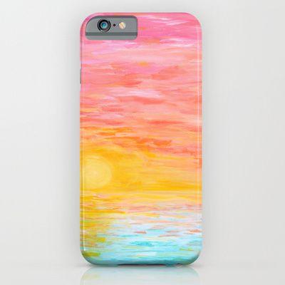 Acrylic Sunset Painting Phone Case Phone Case Diy Paint Artsy
