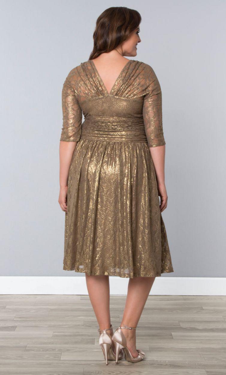 Limited edition metallic maven lace dress african dress