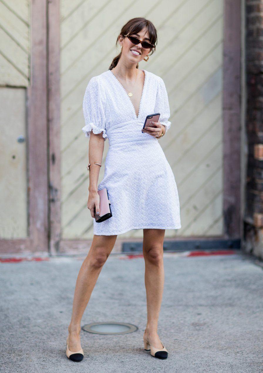 15 weiße Sommerkleider, die NICHT nach Brautkleid aussehen ...