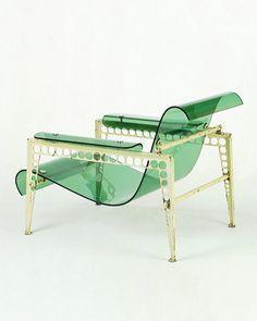Garden Chair - Jean Prouvé Jacques André - 1937. . . . . #homedecor #furniture #deco #inspiration #interiordesign #JeanProuve #JacquesAndre #modernism #frenchmodernism #furniture #design #gardenchair #chair