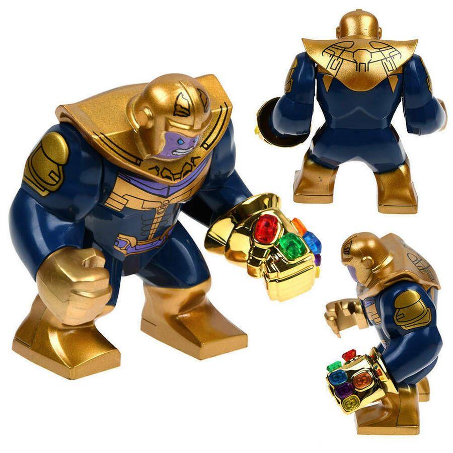Thanos Mini Figure Gold Infinity Gauntlet Avengers End Game Marvel UK Seller