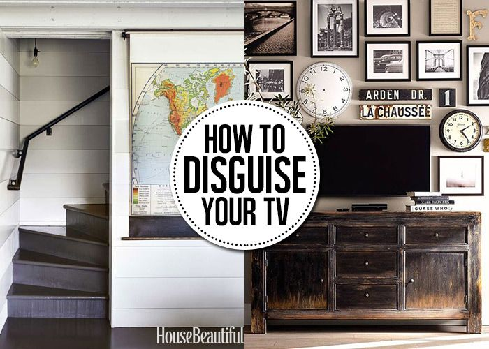 Great Take The Focus Off That Ugly Black TV Box In Your Living Room With These 8