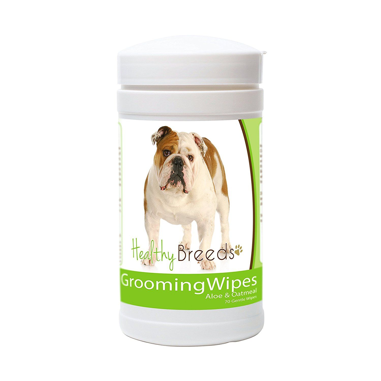 Healthy breeds dog grooming wipes over 80 breeds with