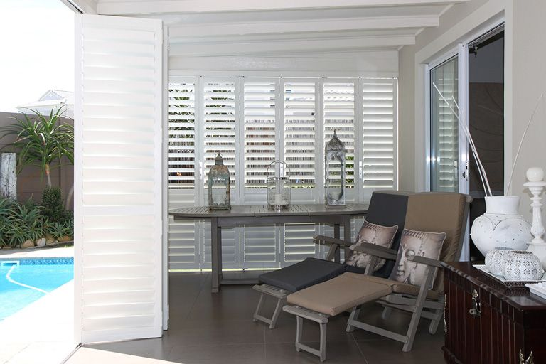 Security Shutters for exterior doors by The Aluminium