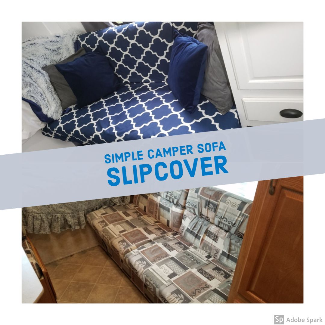 Diy Camper Jack Knife Sofa Slipcover
