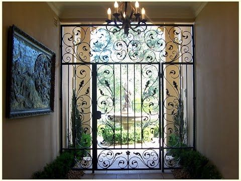 wrought iron door, wrought iron entry doors, wrought iron front ...