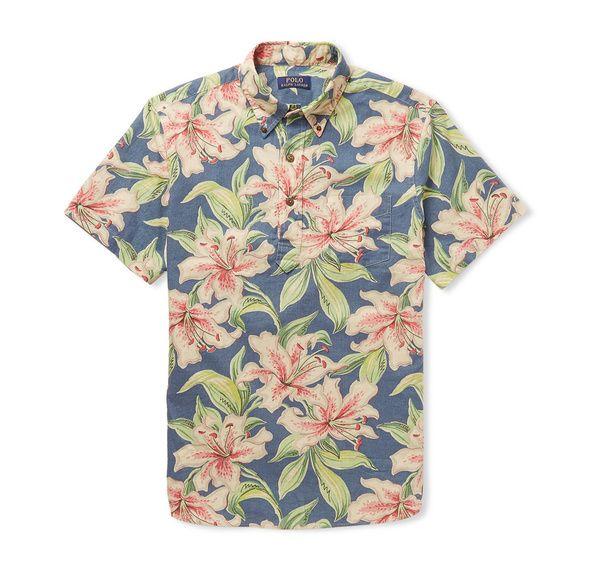 De TikiMode List L'étéHawaï La Style Check Shirtsamp; OkXZuPiT