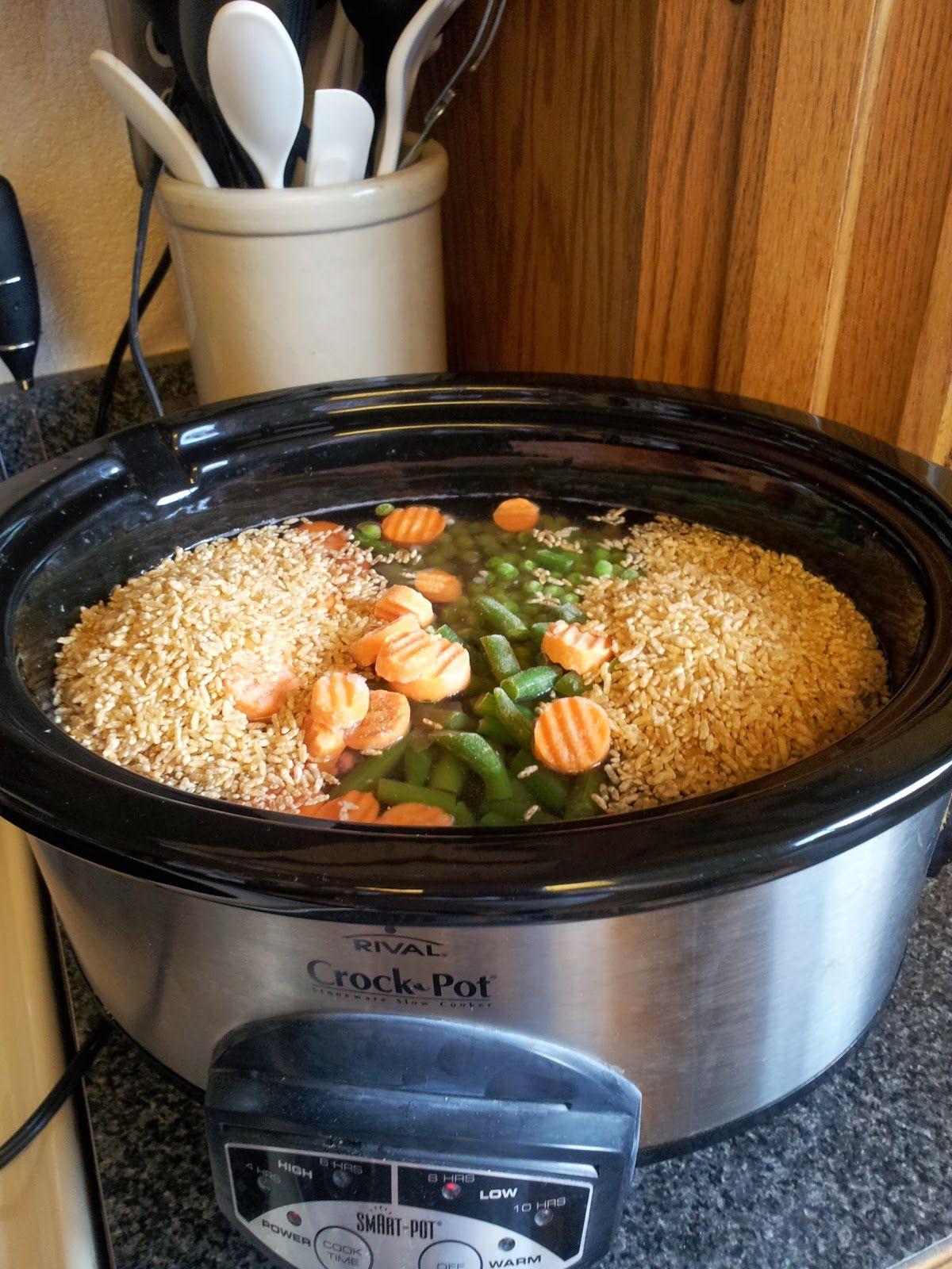 10 Slow Cooker And Crock Pot Dog Food Recipes | Dog food ...