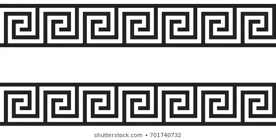 Resultado De Imagenes De Google Para Https Image Shutterstock Com Image Vector Seamless Greek Ornament 260nw 7017407 Greek Pattern Vector Architecture Sketch