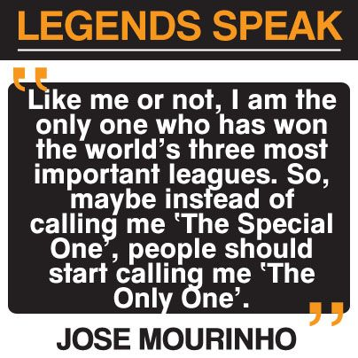 This guy   Jose #TheSpecialOne Mourinho.  #TheOnlyOne