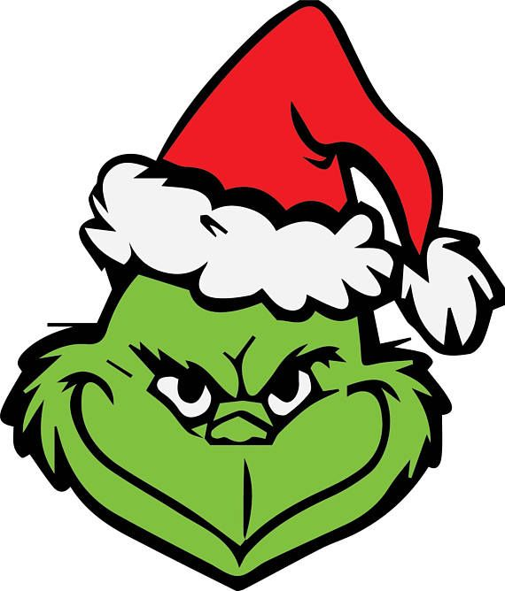 Image result for grinch svg free | Grinch face svg, Grinch ...