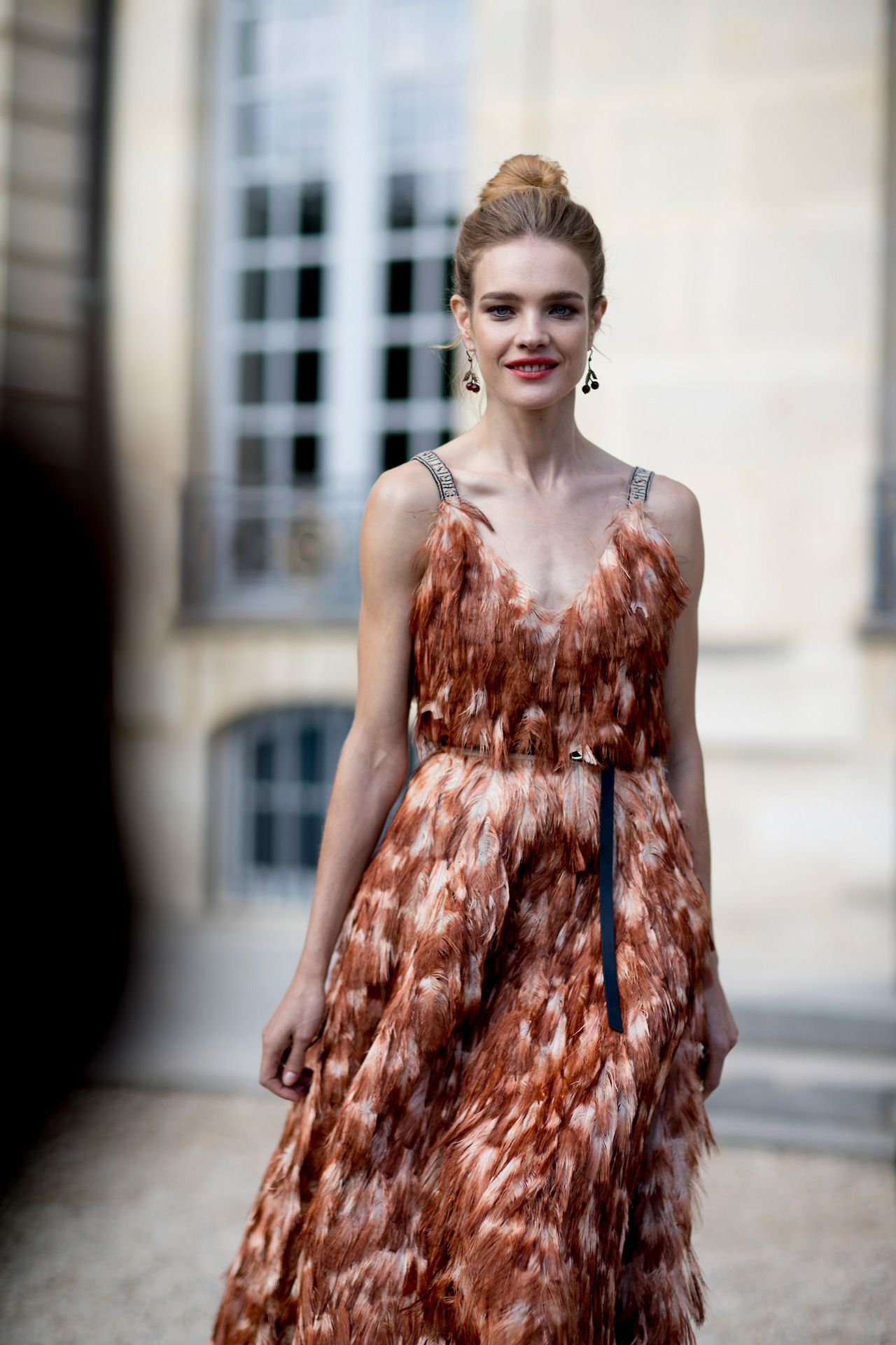 """b854406196db8 streets-couture  """"Natalia Vodianova at Paris Fashion Week Spring 2018 -  Street Style """" MORE FASHION AND STREET STYLEUse the code EBATES10 for 10%  off on ..."""