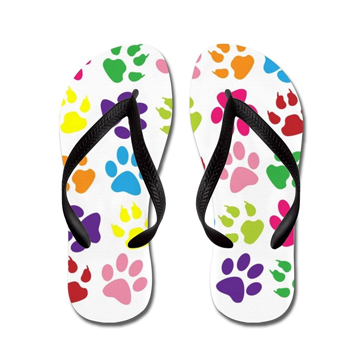 7e8daaeabaaf8 Nyou Paw Prints Flip Flops   You can find more details by visiting the  image link