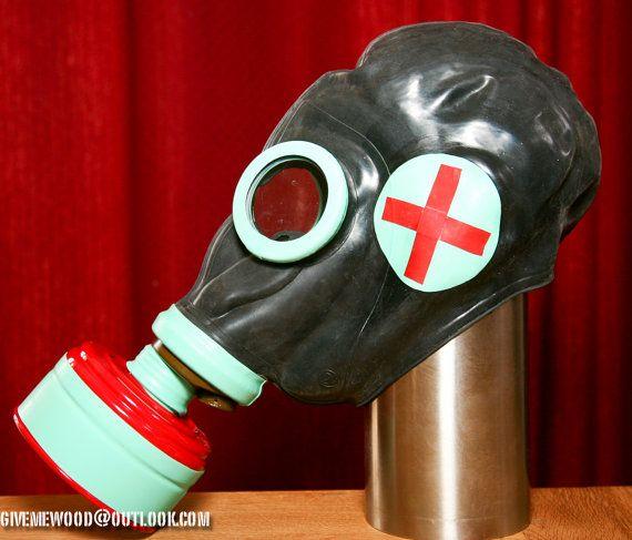 Custom medical GP-5 gasmask  785b930fd7