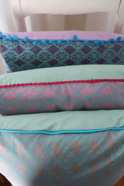 Kissen Set 3er Violett Turkis Lila Mint Wendekissen 50x50 Kissenbezug Kissenhullen Skandinavisch Pastelltone Eiscremefarben Sofakissen Https Sofakissen Kissen
