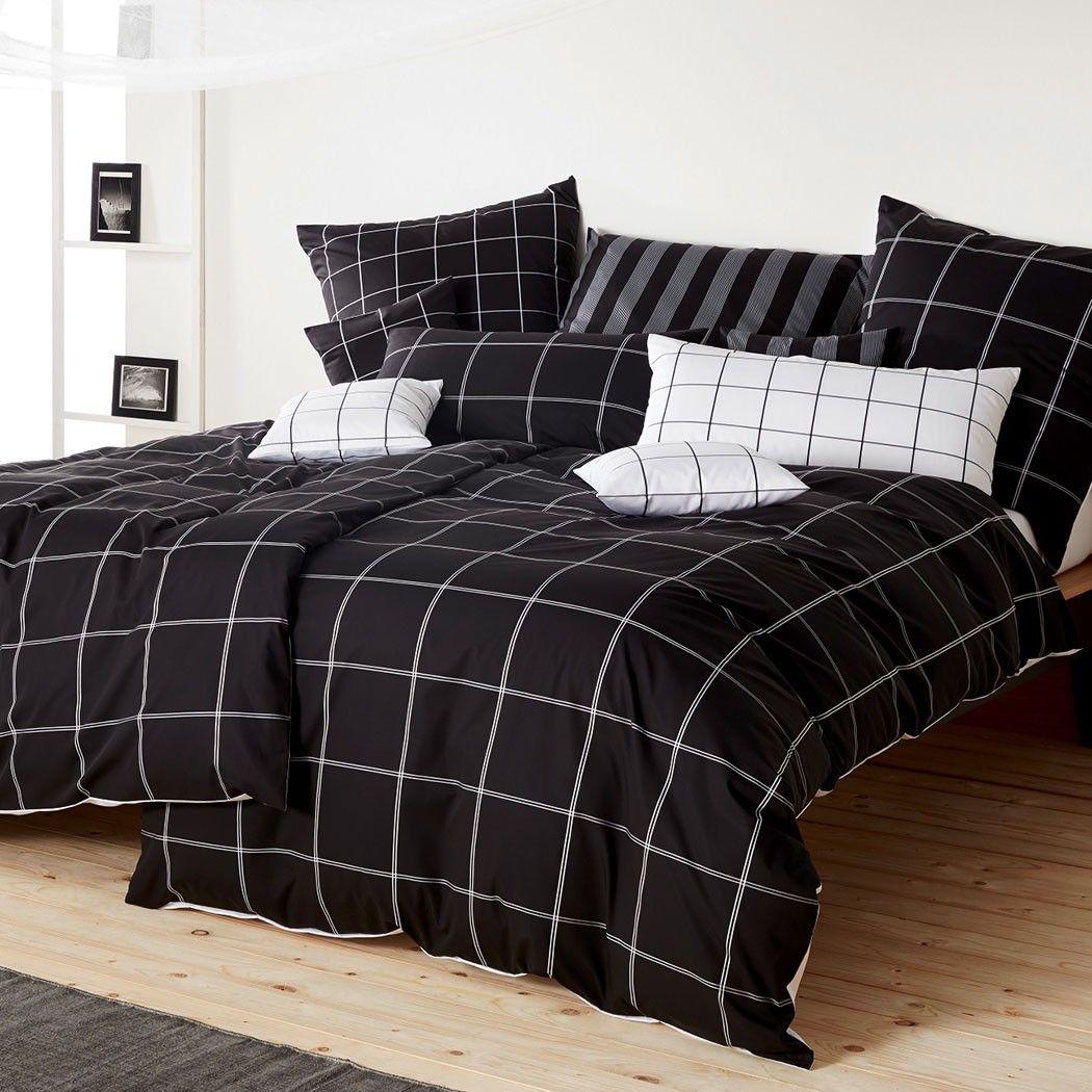 Schwarze bettwsche cheap weie gardinen with schwarze bettwsche elegant schwarze bettwsche - Schwarze gardinen ...