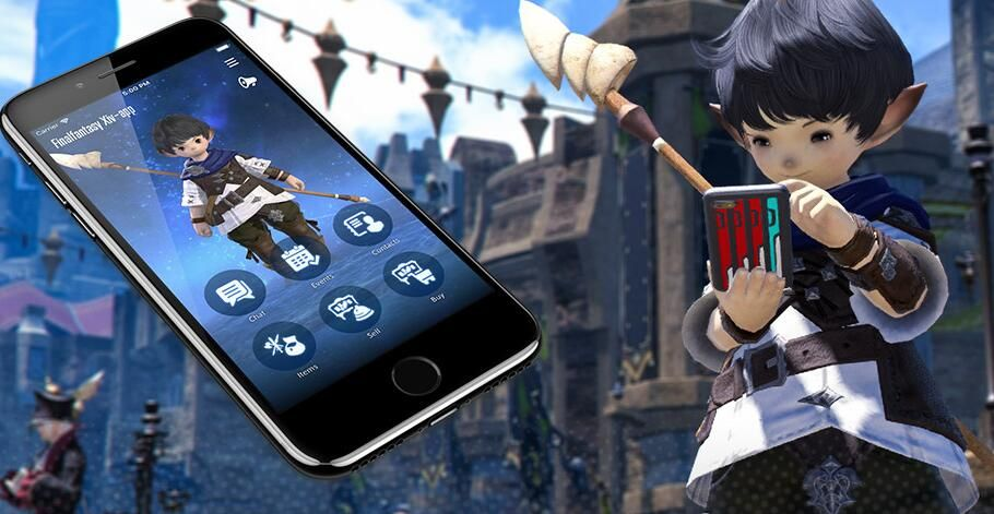 The FFXIV Companion App will be available to all players in late July | Final fantasy xiv. Players. Companion