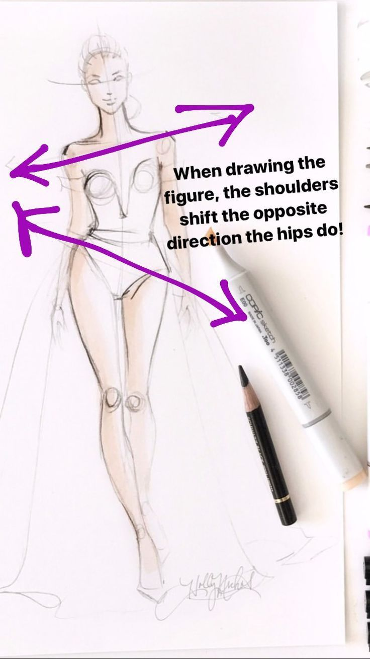 Photo of Fashion Illustration tip. move your hips. – Healthy skin care
